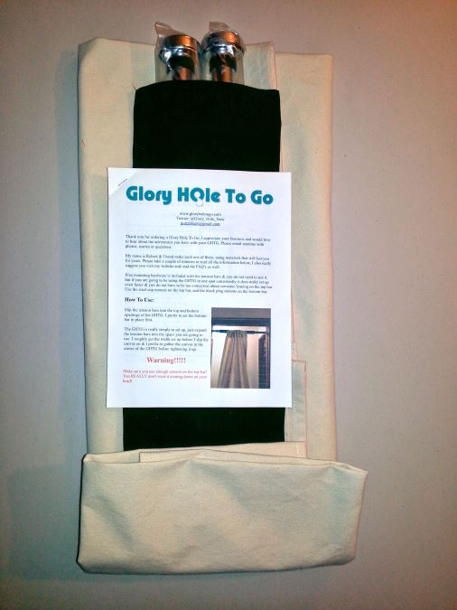 Gallery Buy A Portable Glory Hole At Glory Hole To Go