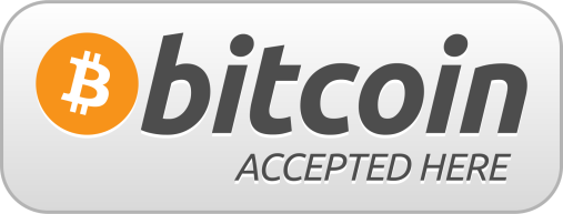 Bitcoin accepted here printable